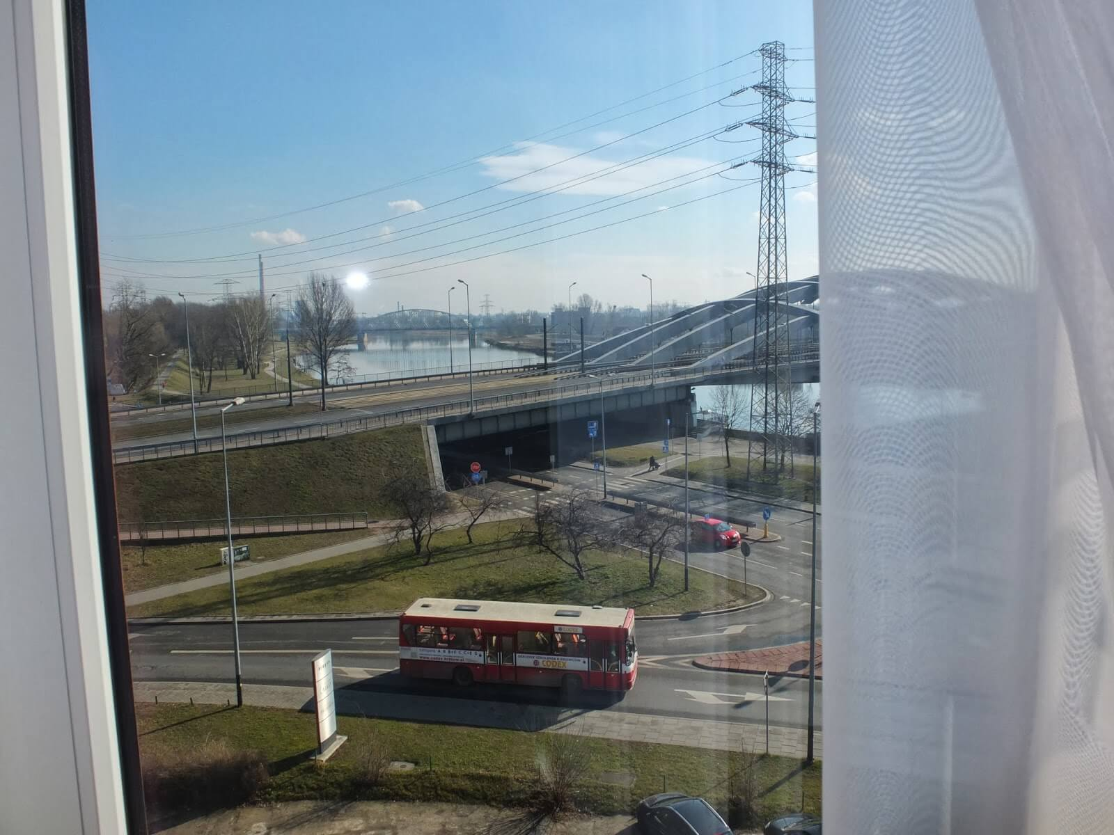 View from hotel in Krakow