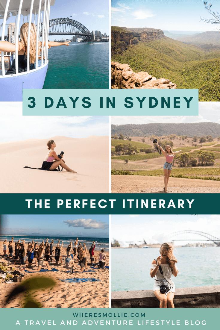 How to spend 3 days in Sydney, Australia