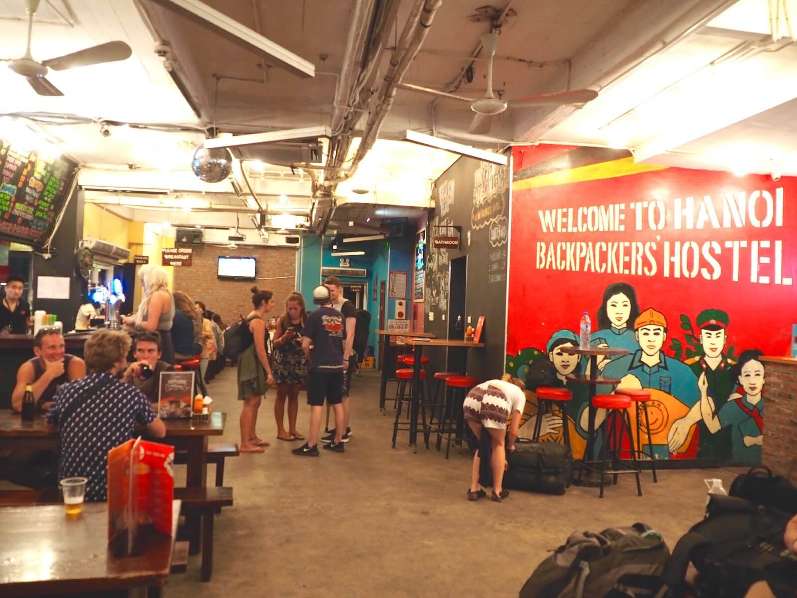 Downtown Backpackers Tour