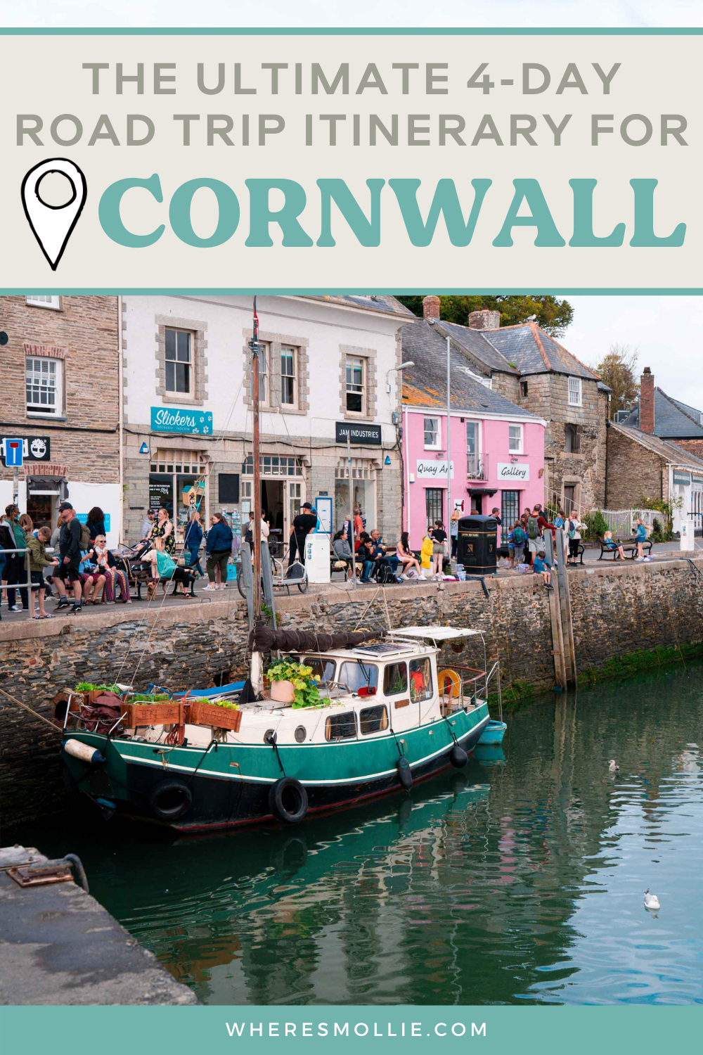A 4-day Cornwall road trip itinerary: Padstow, Lands End and Eden Project