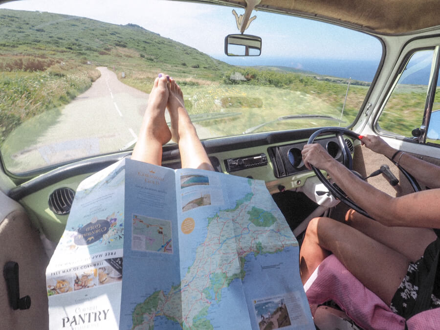 A 4 Day Roadtrip in Cornwall with a Vintage VW Camper | Where's Mollie - A UK Travel and Lifestyle Blog