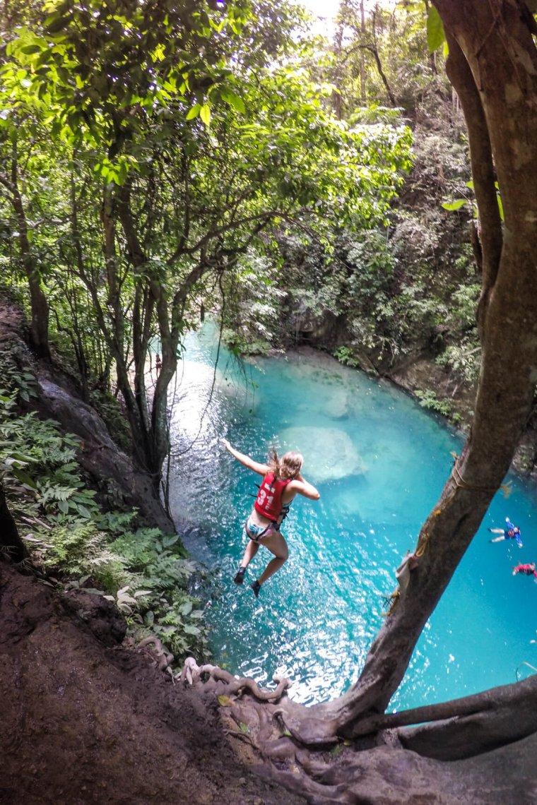 Badian Canyoneering at Kawasan Falls, Cebu, Philippines | Where's Mollie? A Travel and Adventure Lifestyle Blog