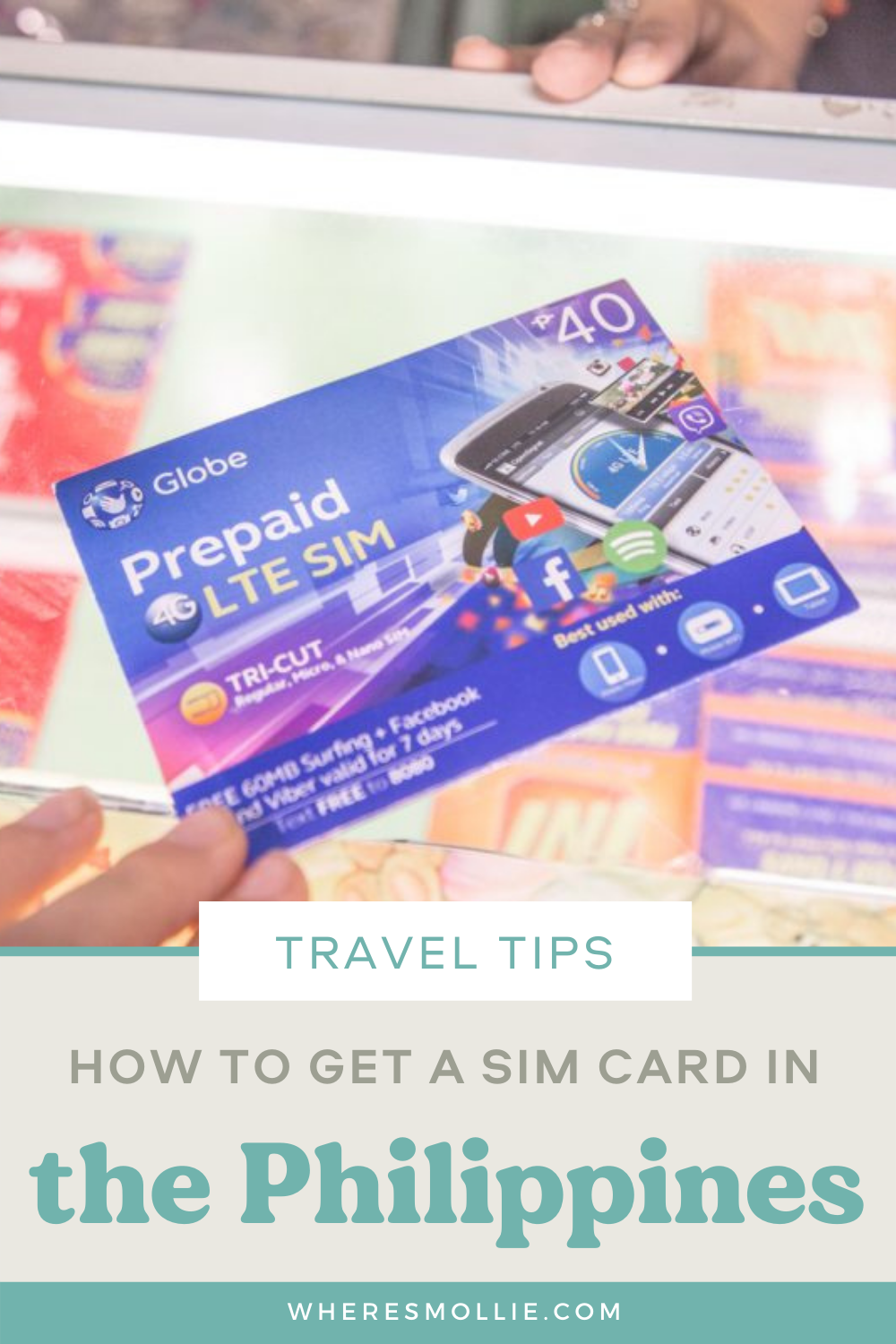 Getting a SIM card in the Philippines