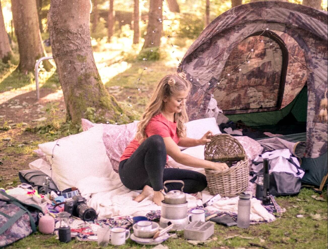 A packing list for the ultimate camping experience