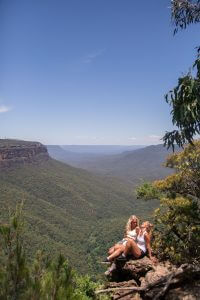 A day in the Blue Mountains- Wentworth Falls and Empress Falls | Where's Mollie? A travel and adventure lifestyle blog