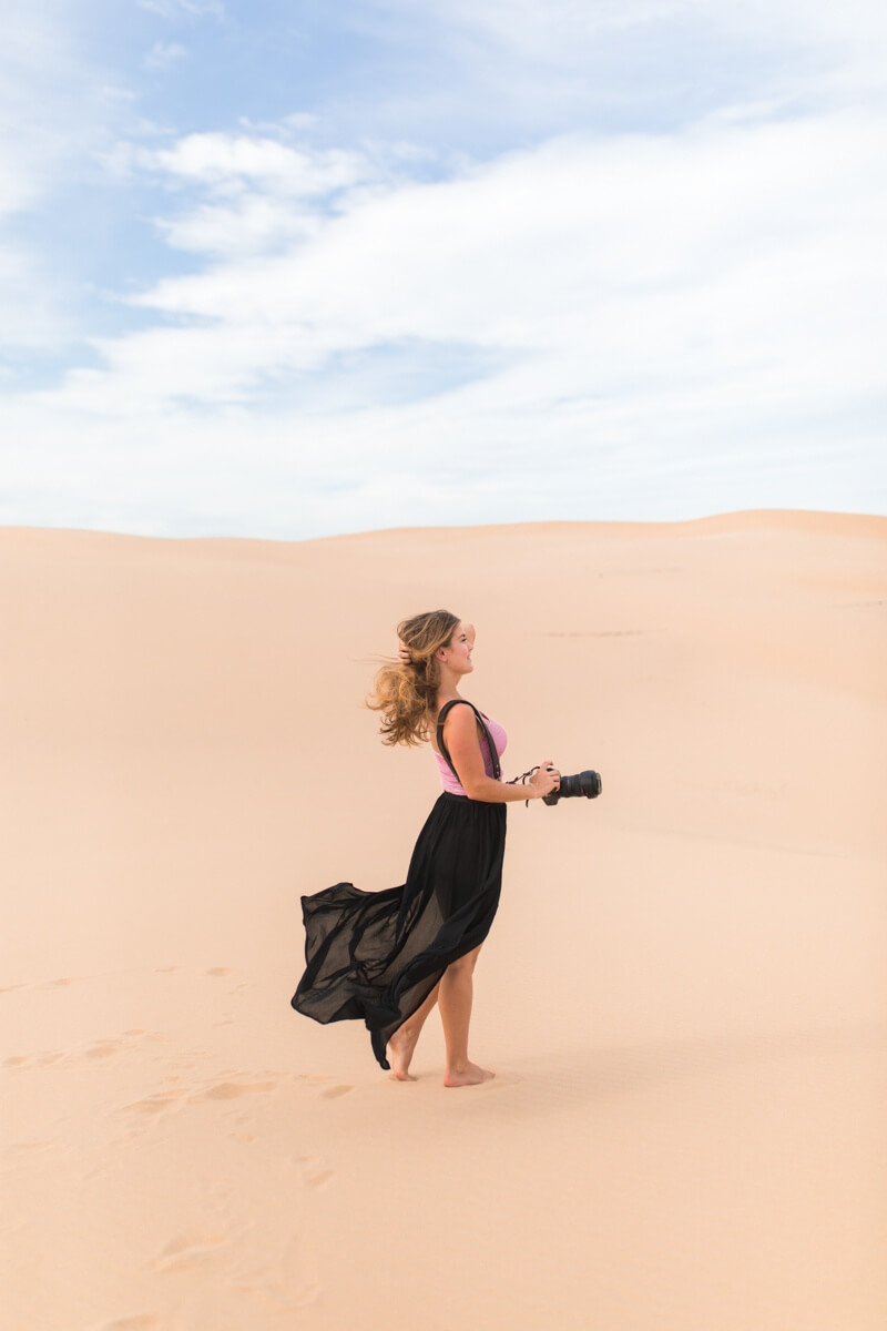 A roadtrip from Sydney to Newcastle... Stockton Sand Dunes and Mount Tomaree | Where's Mollie? A travel and adventure lifestyle blog-16