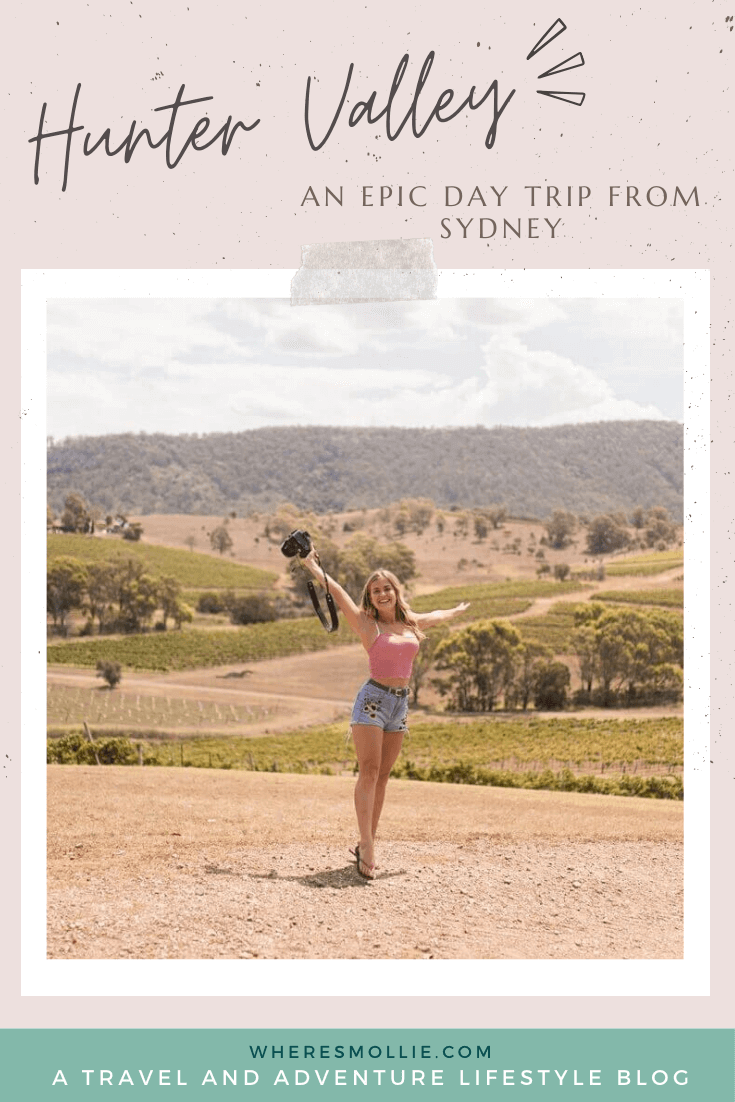 A day trip from Sydney to the Hunter Valley