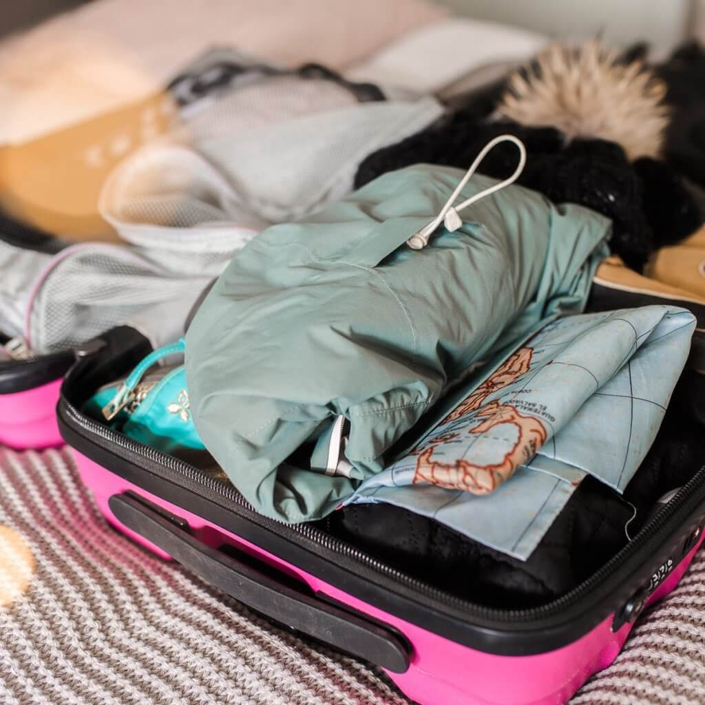 How to pack into a carry on case for a weekend city break