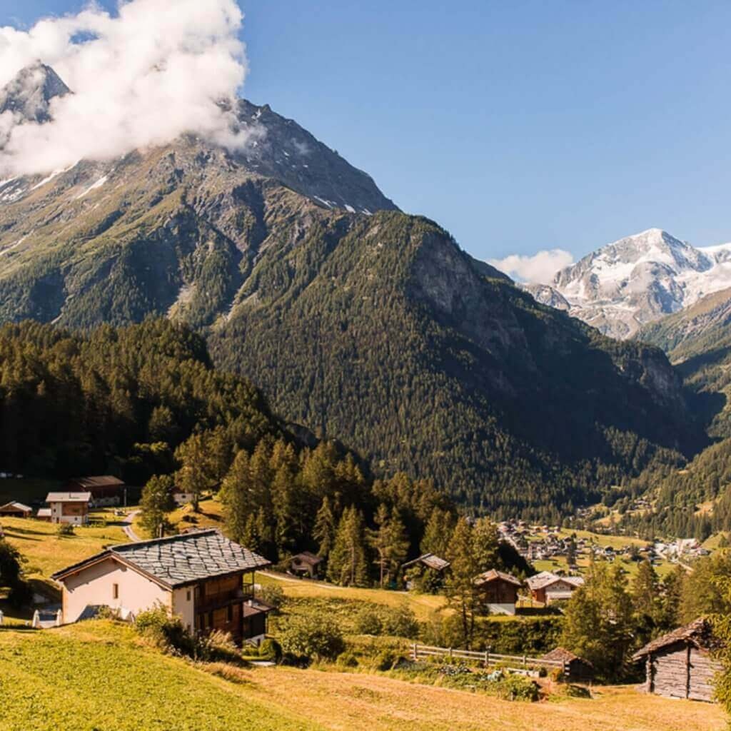 A Swiss Alps road trip: Montreux, Evolene, Saint-Luc and Veyonnaz | Where's Mollie? A travel and adventure lifestyle blog