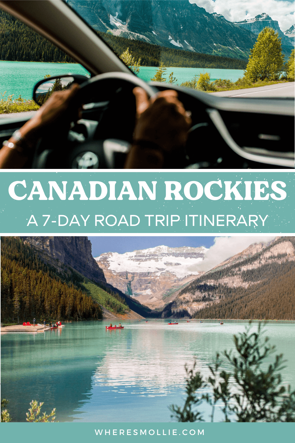 A 7-day Canadian Rockies road trip itinerary