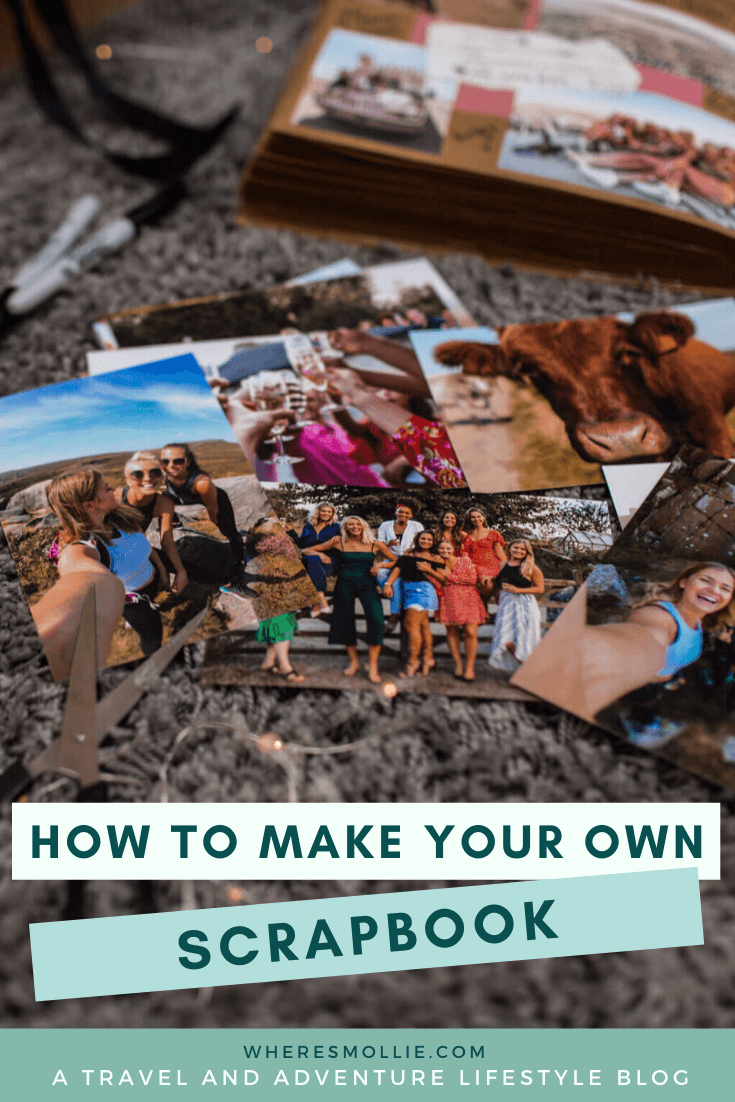 How to create your own scrapbook