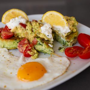 Recipe: Courgette, Mint and Lemon Fritters