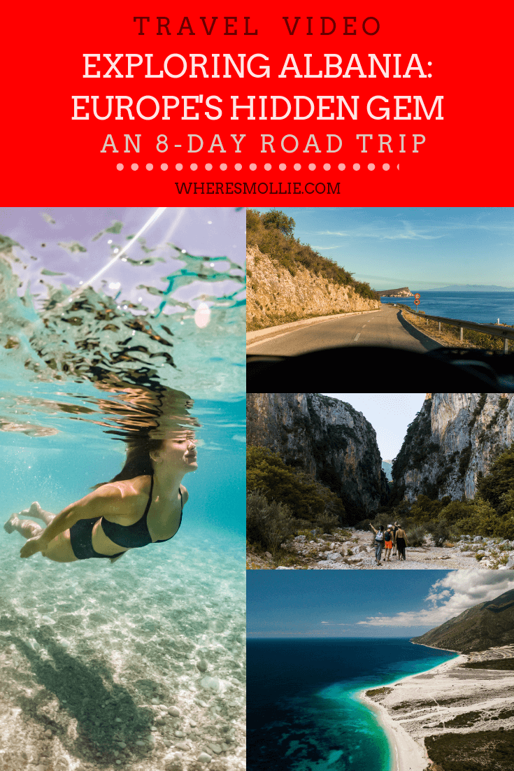 albanian road trip