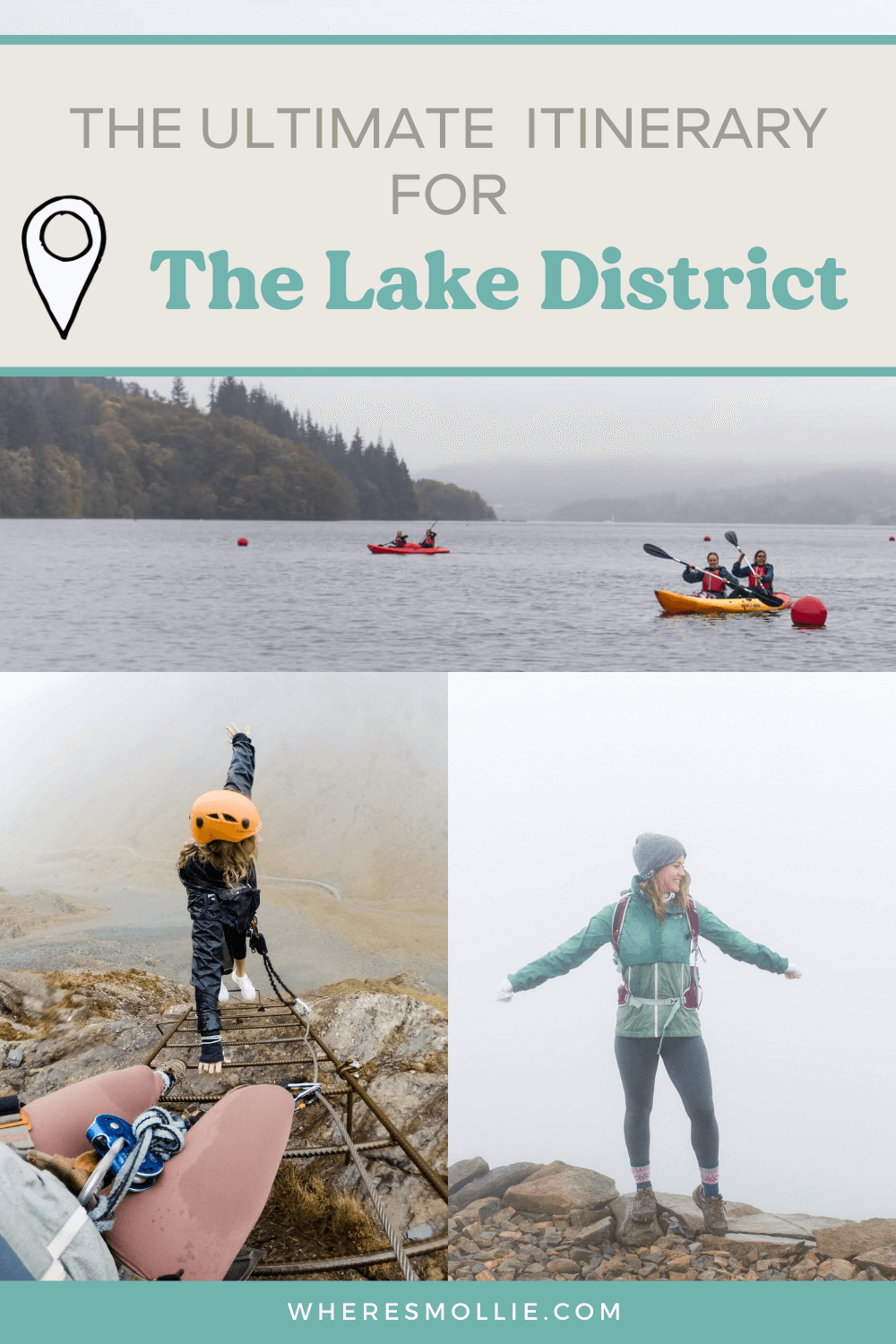 A 3-day itinerary for The Lake District National Park