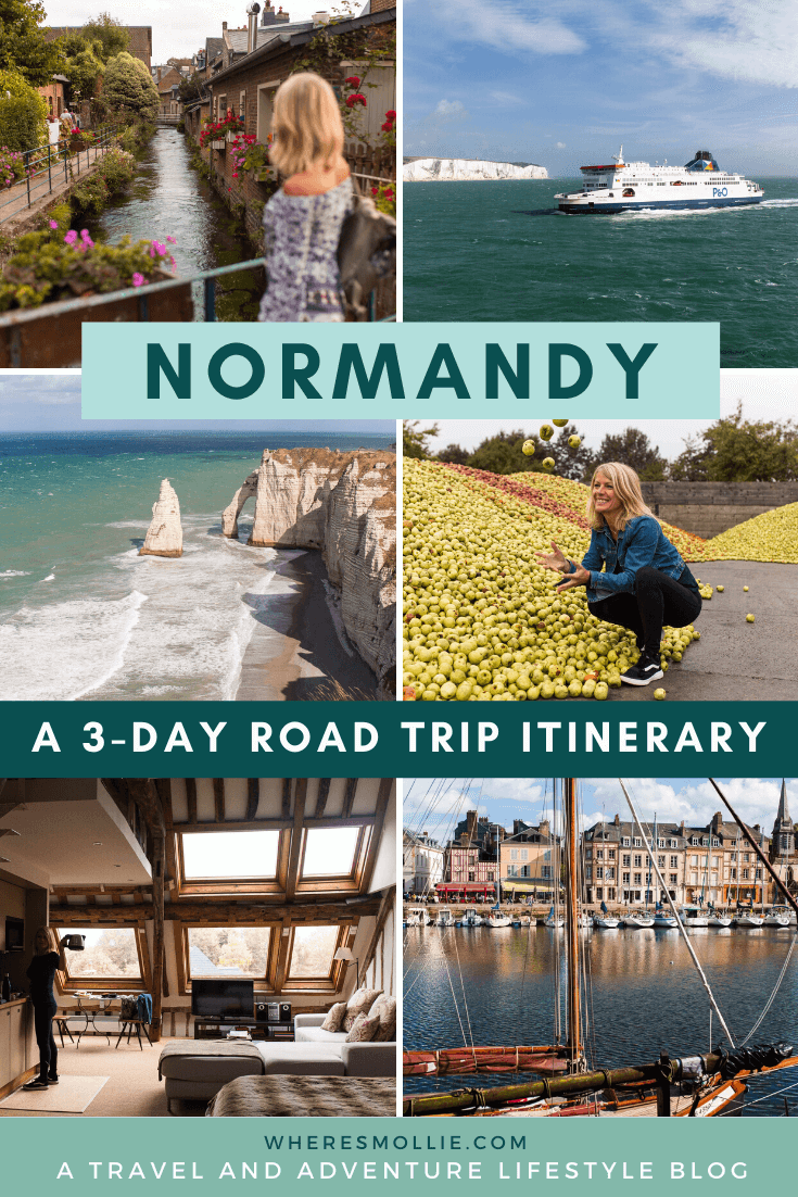 A 3-day road trip through Normandy, Northern France
