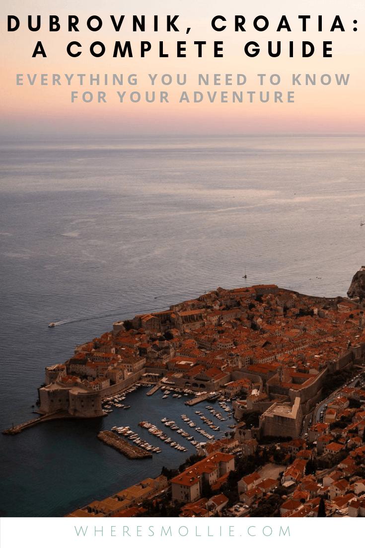 A guide to Dubrovnik, Croatia