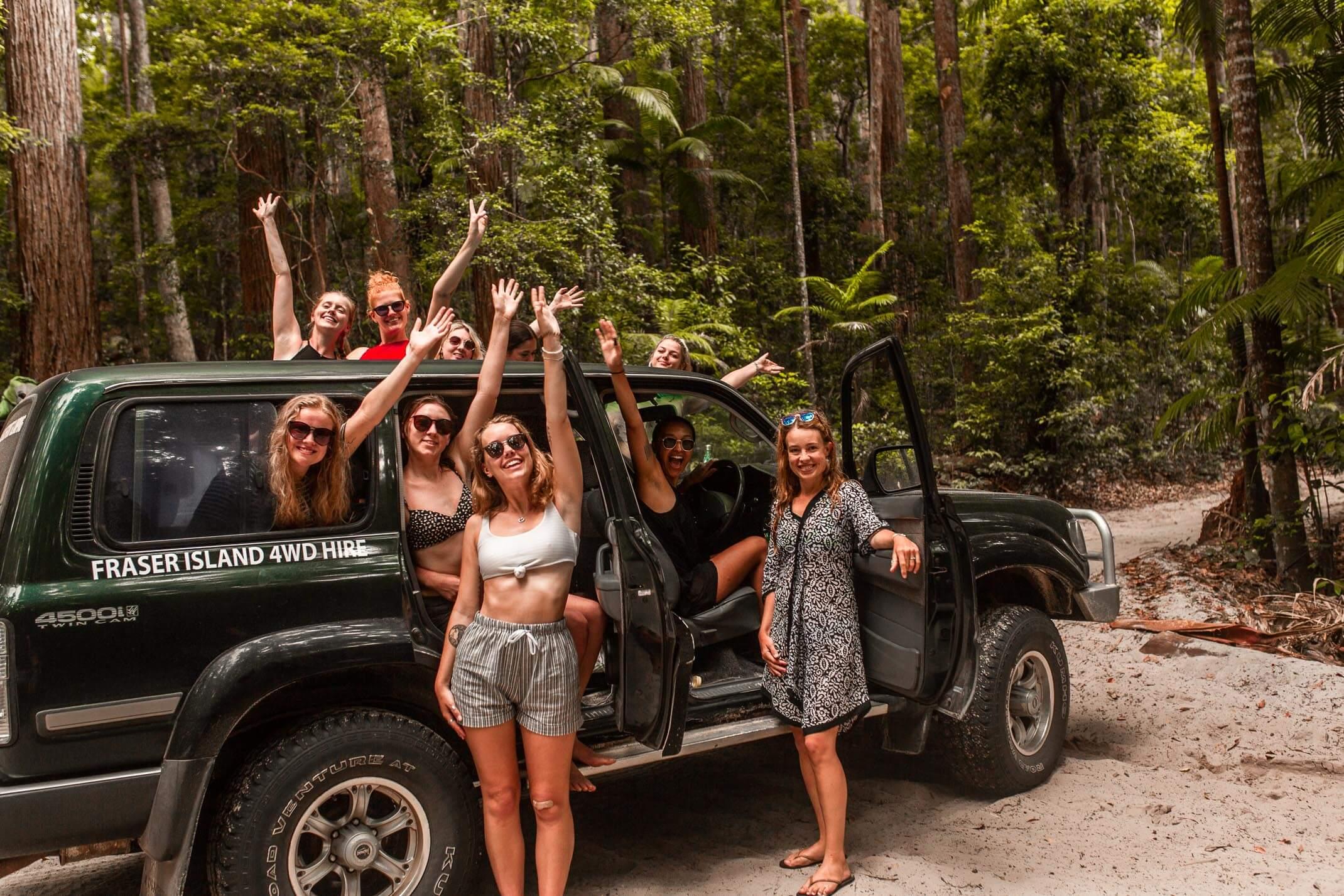 3 days on Fraser Island with Drop Bear Adventures