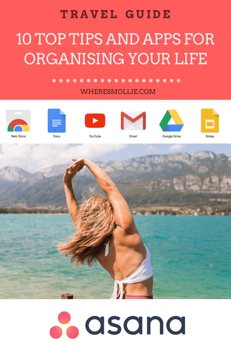Life hacks: My top 10 tips for organising your life