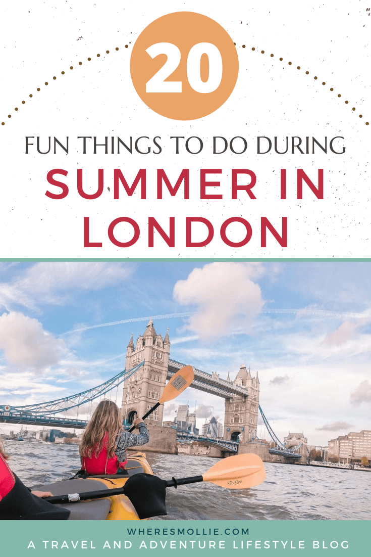 20 things to do in London during summer