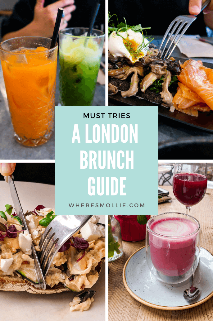 A list of the best brunch spots for you to try in London