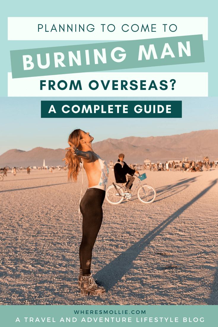 How to plan Burning Man if you're flying in internationally
