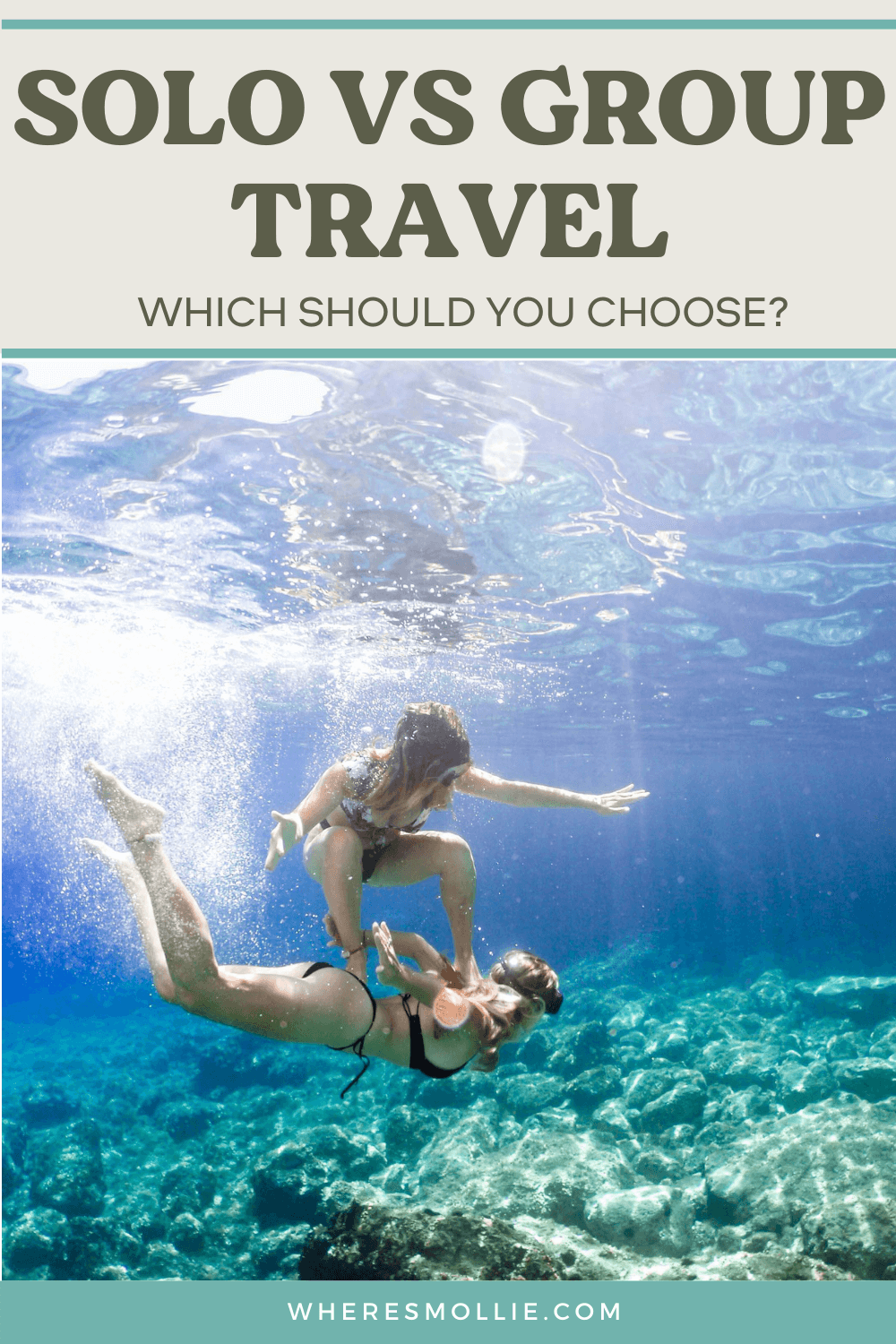 Solo travel vs group travel - which should you do?