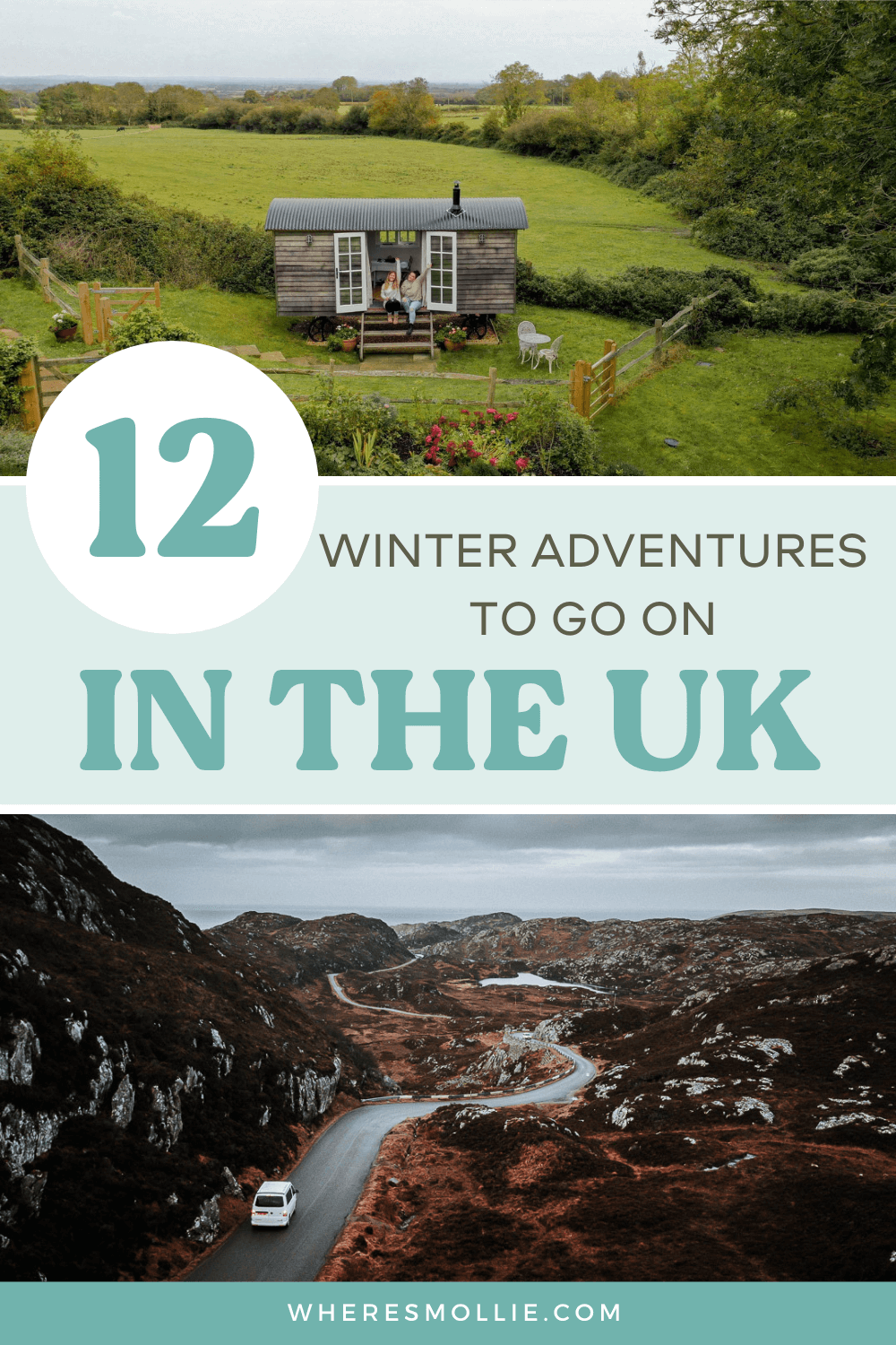 12 ways to add adventure to your UK winter