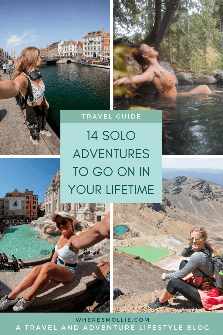 14 solo adventures to go on in your lifetime