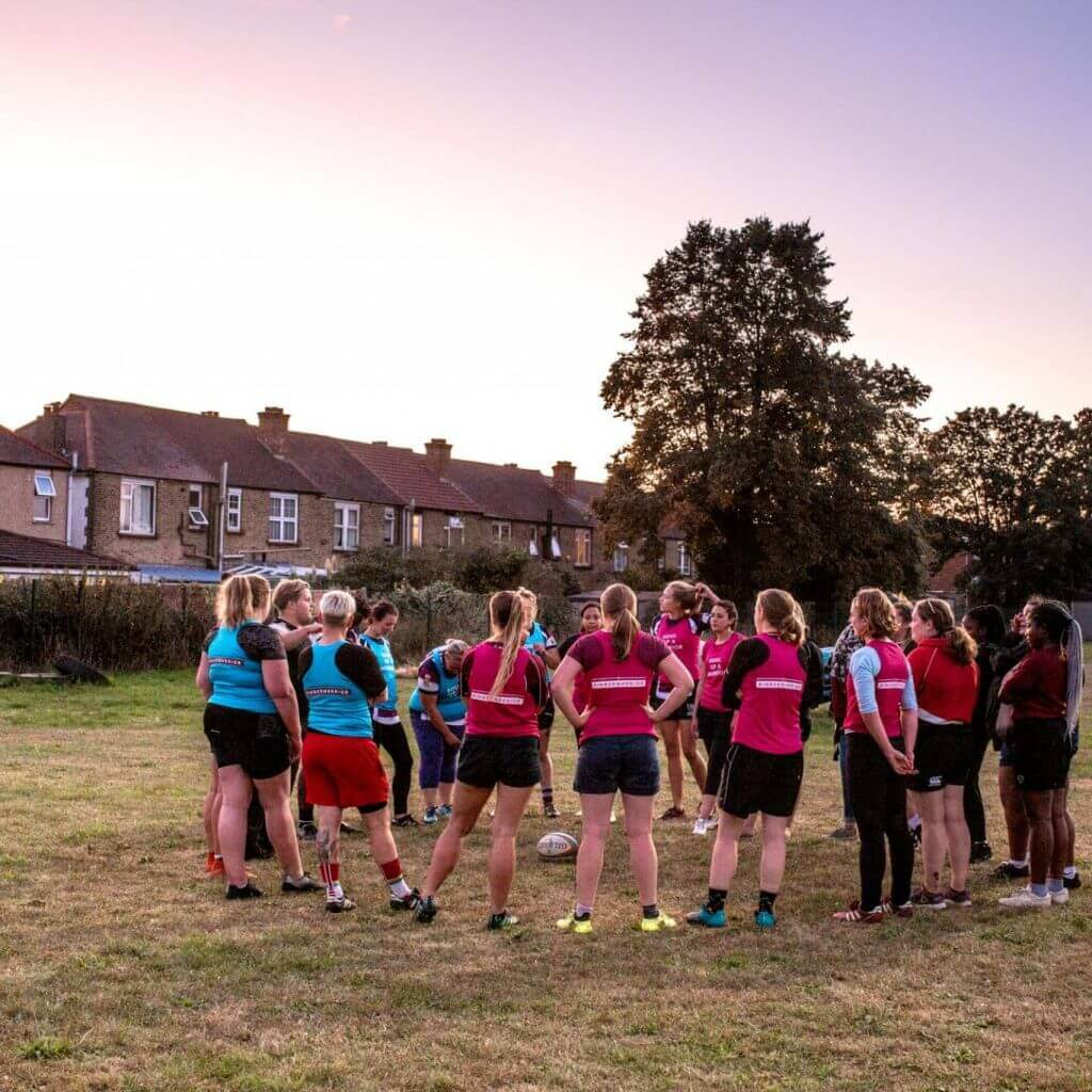 Play Women's Rugby In London for FREE with RFU Inner Warrior