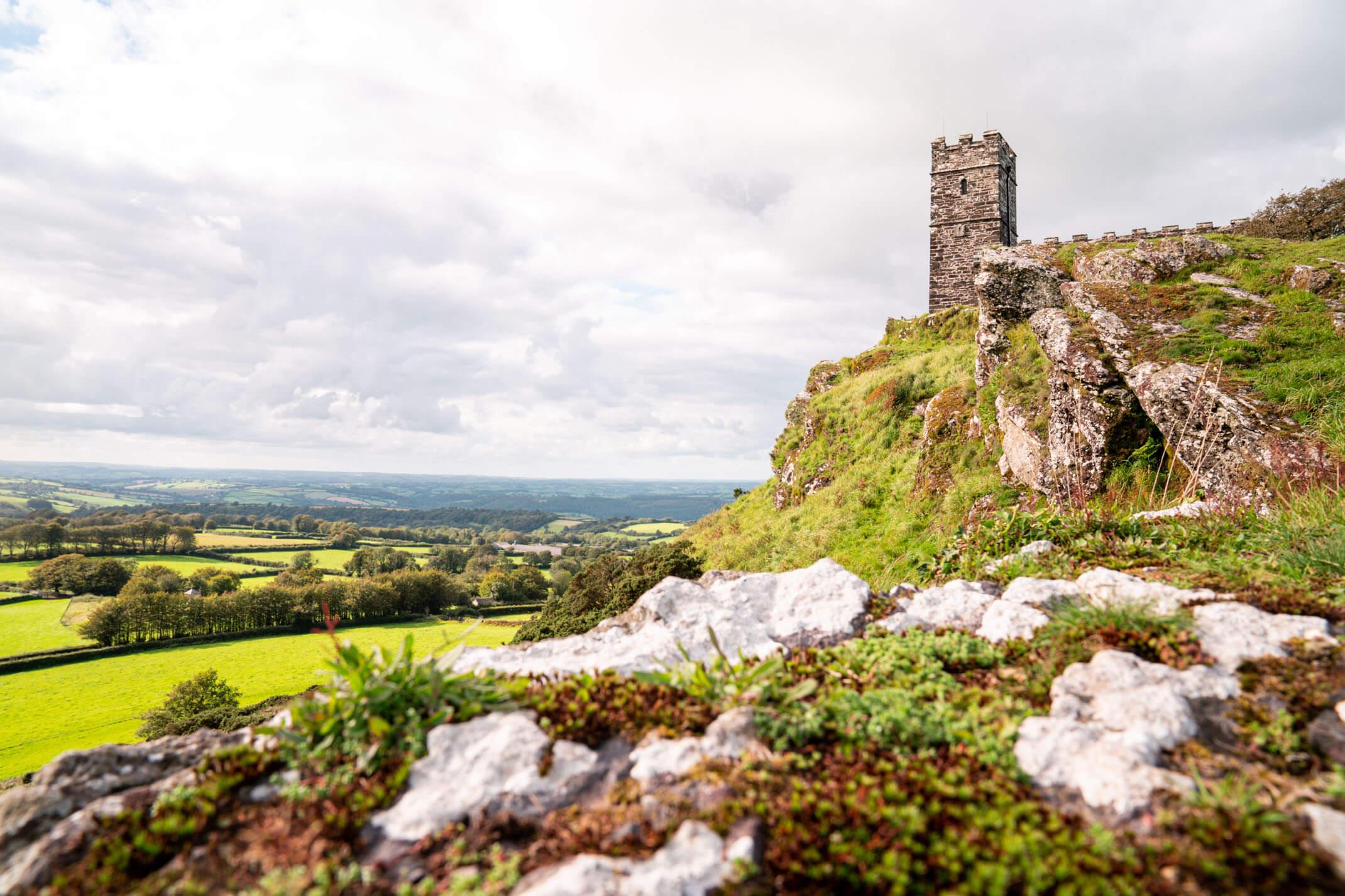 Brentor Church: A guide to exploring Dartmoor National Park, Devon
