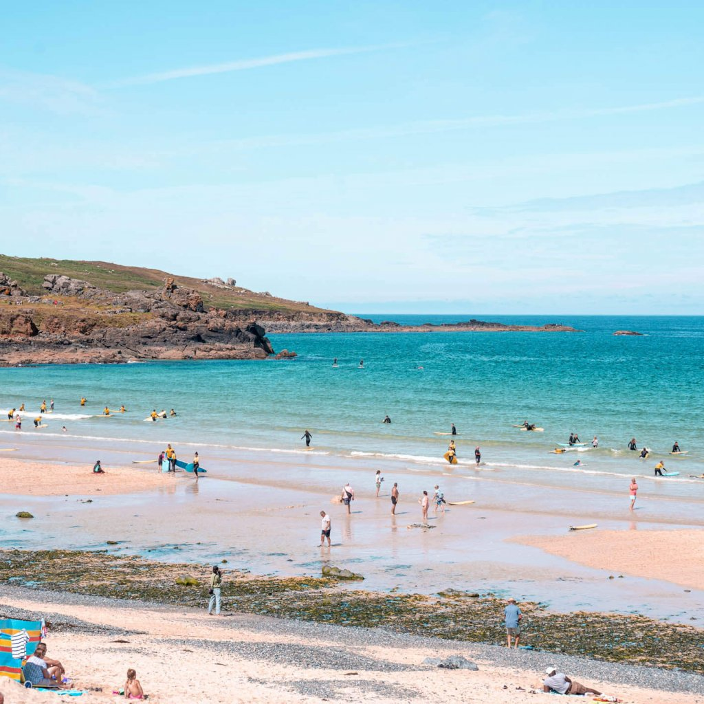 Porthmeor Beach, St.Ives: A guide to the most beautiful beaches in Cornwall, England