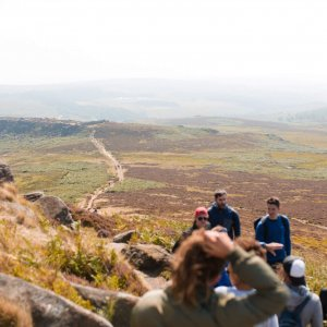 A weekend with friends in The Peak District