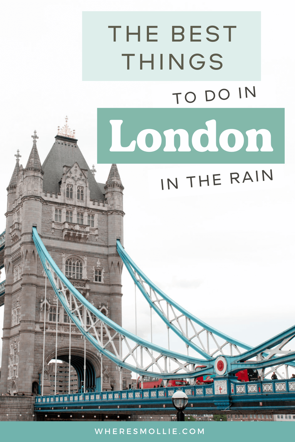 The best things to do in London when it rains