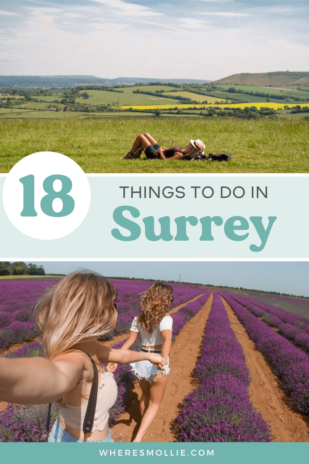 The best places to visit in Surrey, England