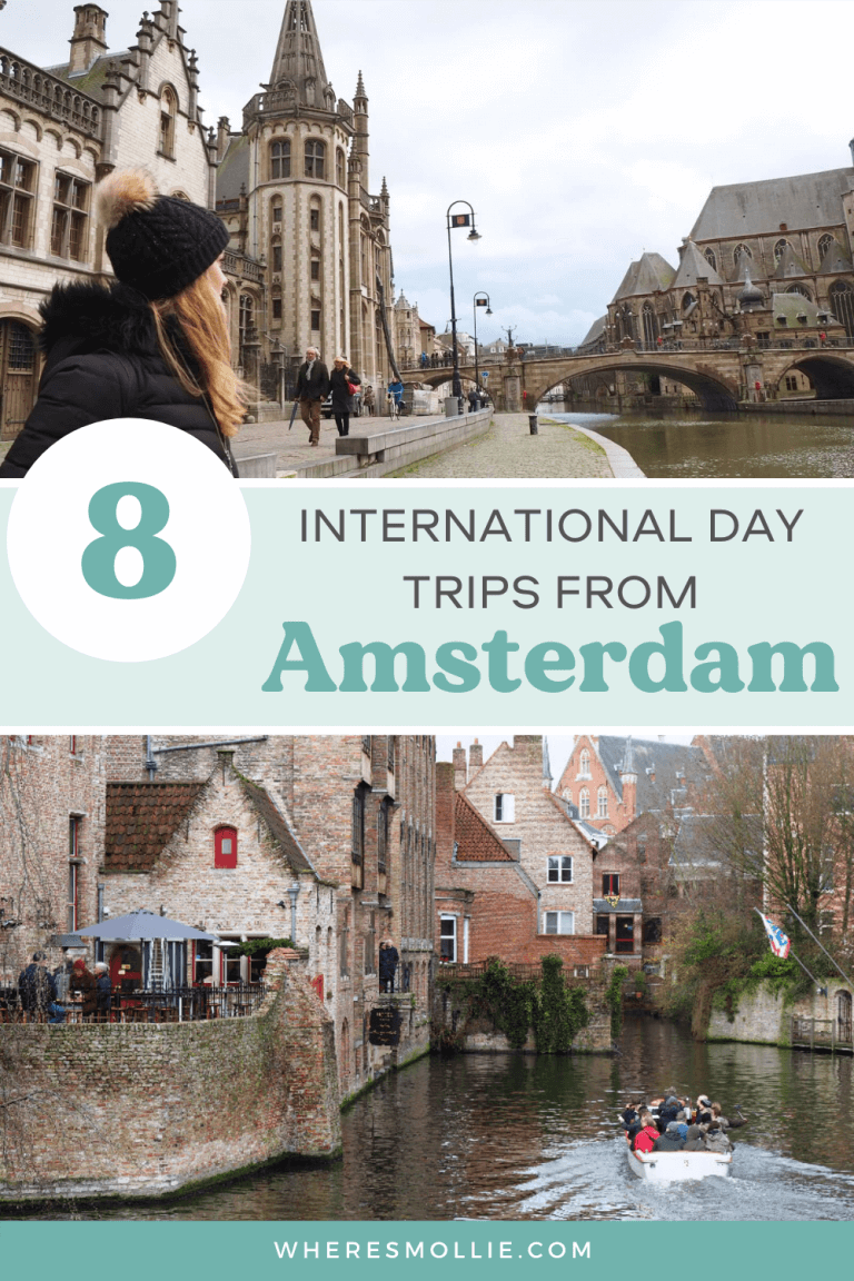 8 international day trips from Amsterdam