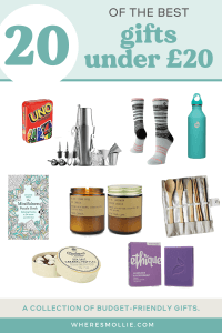 20 gifts under £20: a budget friendly travel gift guide