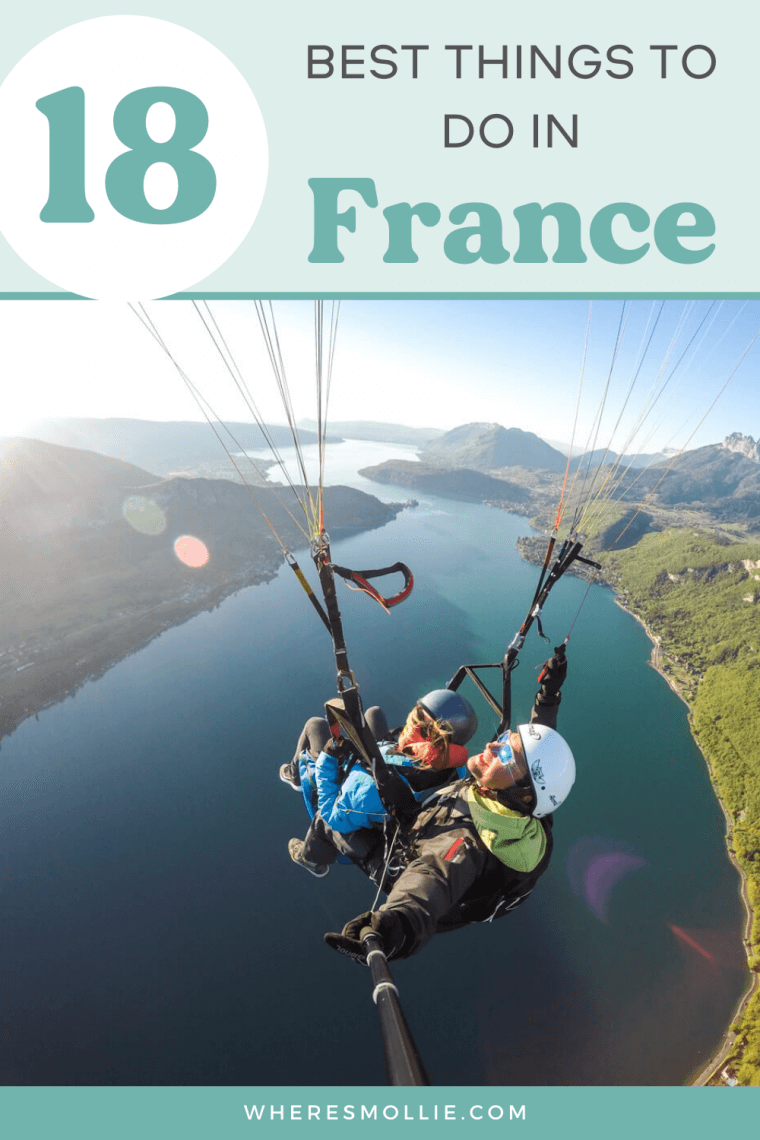 The best things to do in France...