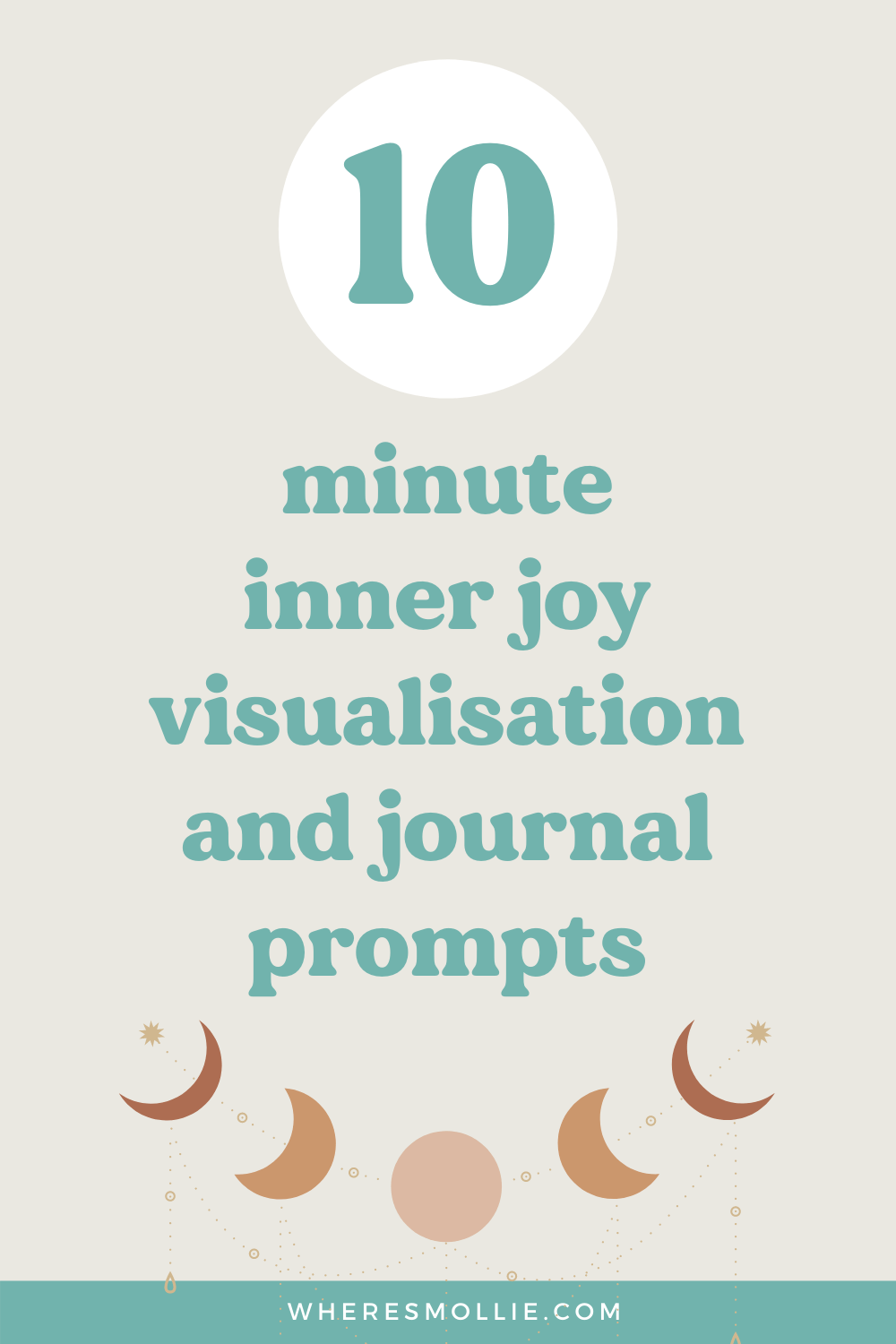 10-minute inner joy visualisation and journal prompts