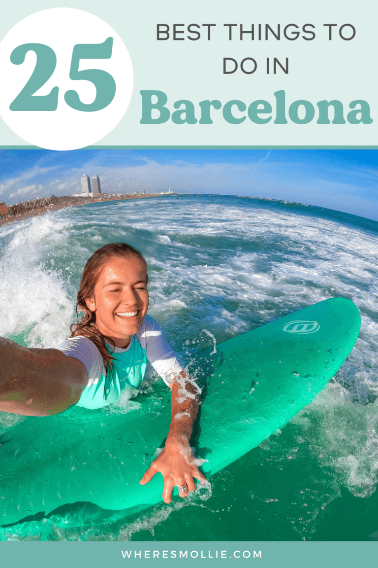 25 best things to do in Barcelona...