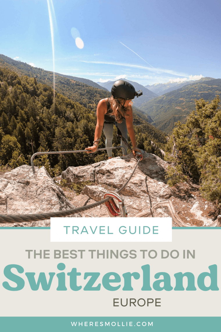 The best things to do in Switzerland...