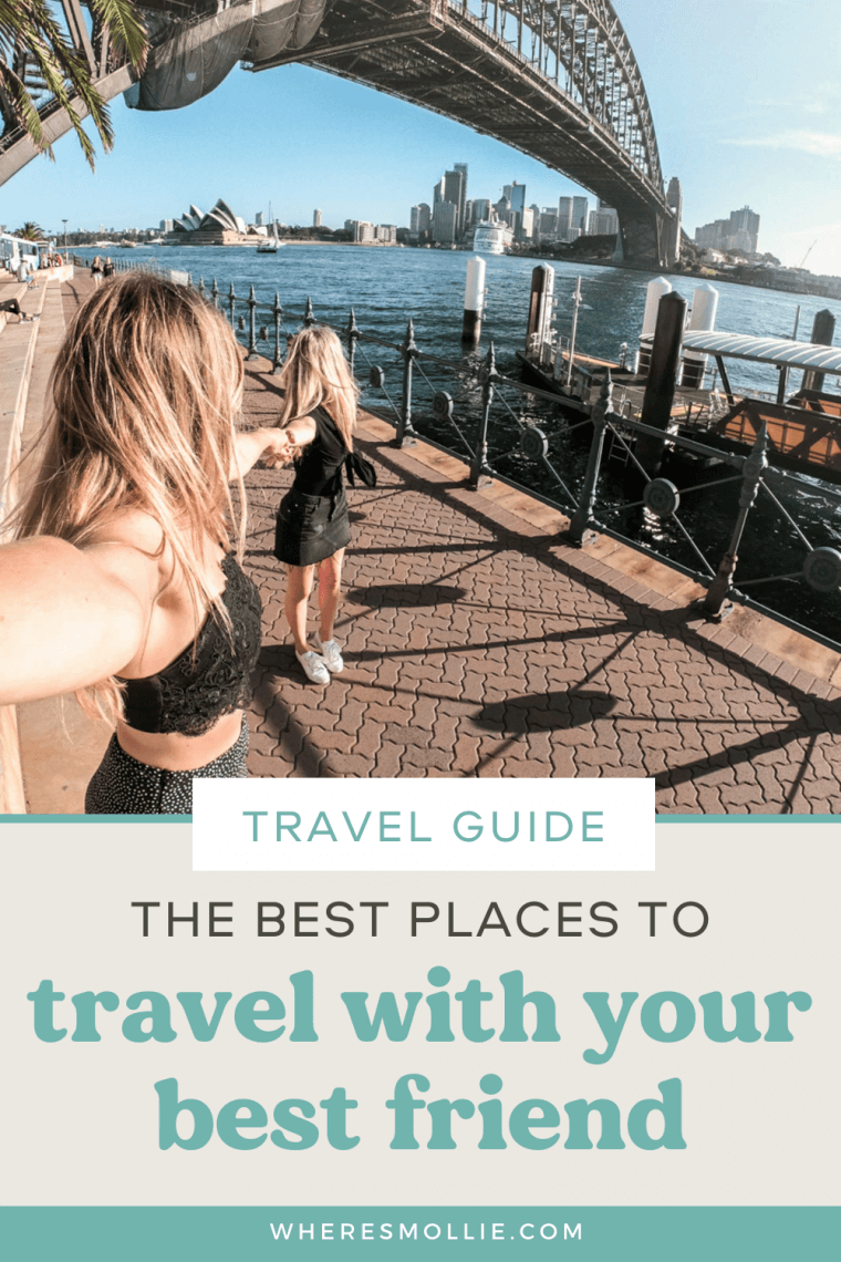 14 places to travel with your best friend...