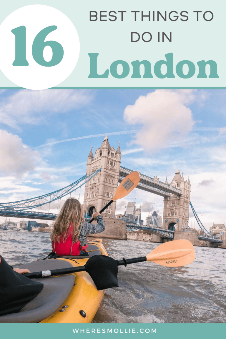 16 best things to do in London...