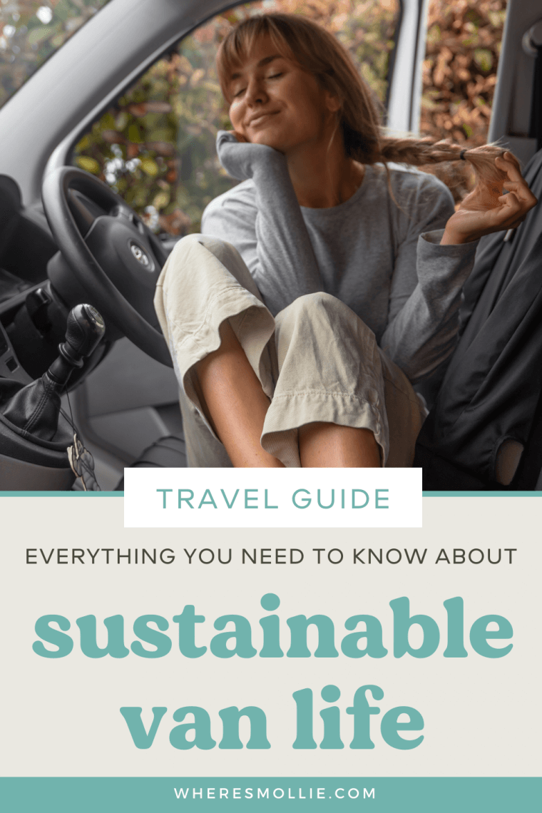 10 top tips for sustainable van life...