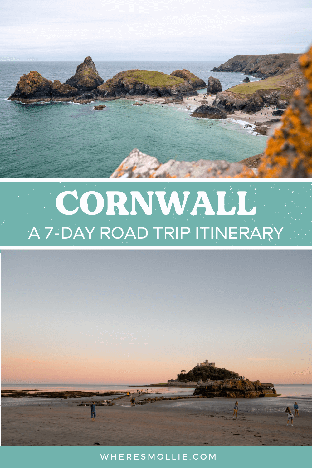 A 1-week road trip itinerary for Cornwall