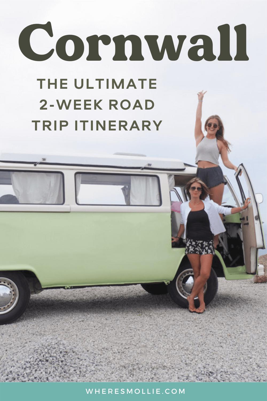 A 2-week Cornwall road trip itinerary