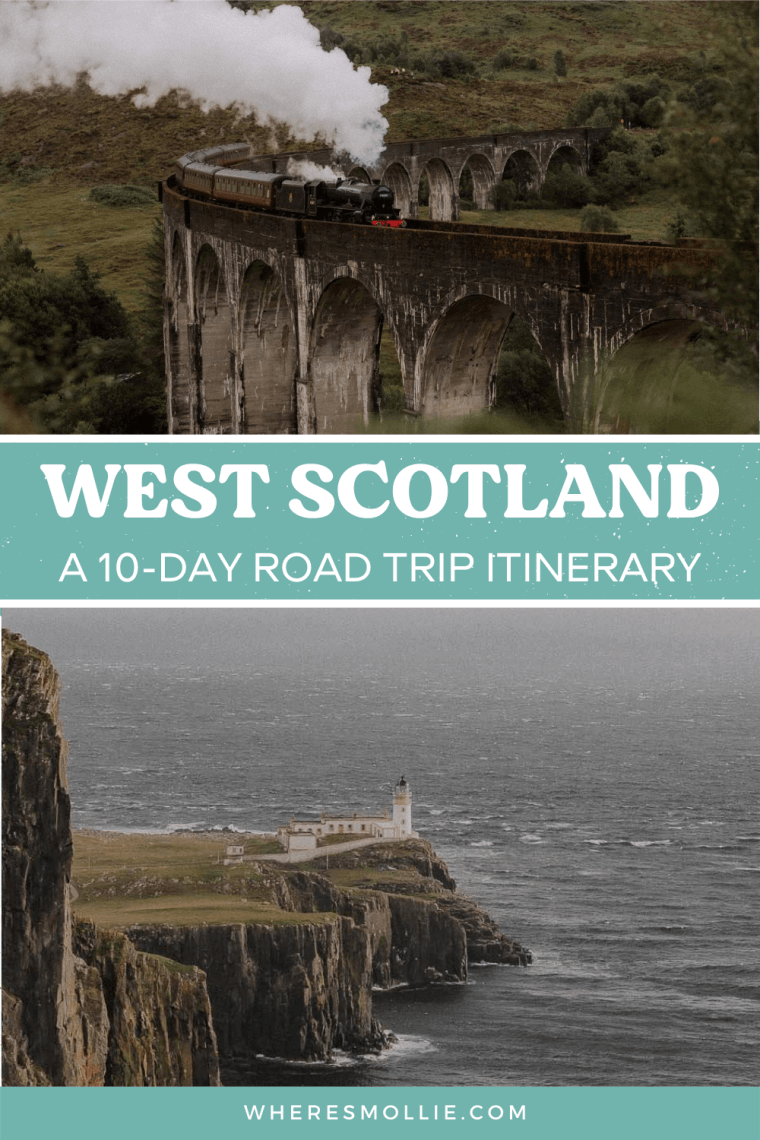 A 10-day road trip itinerary for west Scotland...