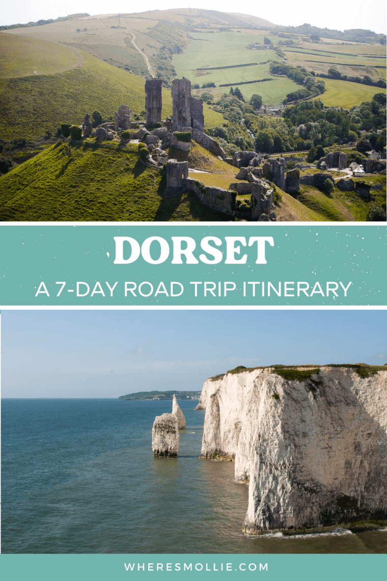 A 1-week road trip itinerary for Dorset...